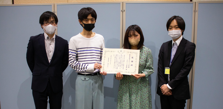 メディア学科の西尾ゼミが東京2020大会に向けた映像を制作し、新宿区から感謝状が贈呈されました